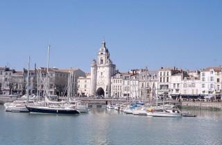 La grosse horloge à La Rochelle