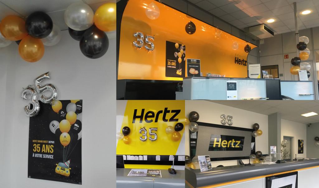 HERTZ GRAND OUEST fête ses 35 ans